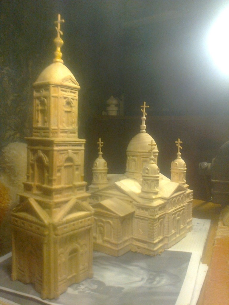 Храм из дерева